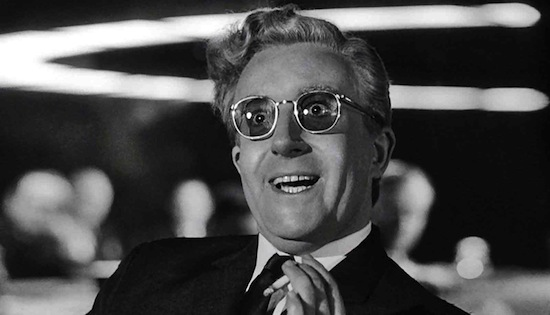 Dr. Strangelove himself (Peter Sellers)