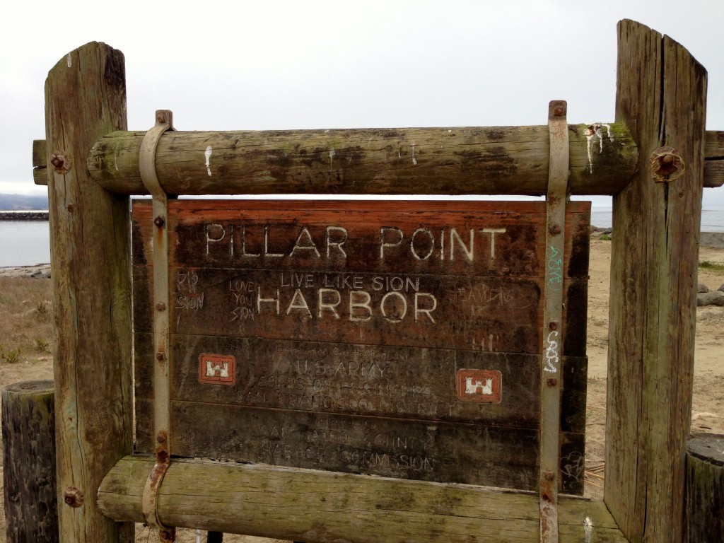 Pillar Point Harbor entrance