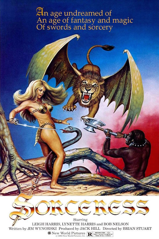 Braving one of the Worst Movies Ever Made – Sorceress (1982)
