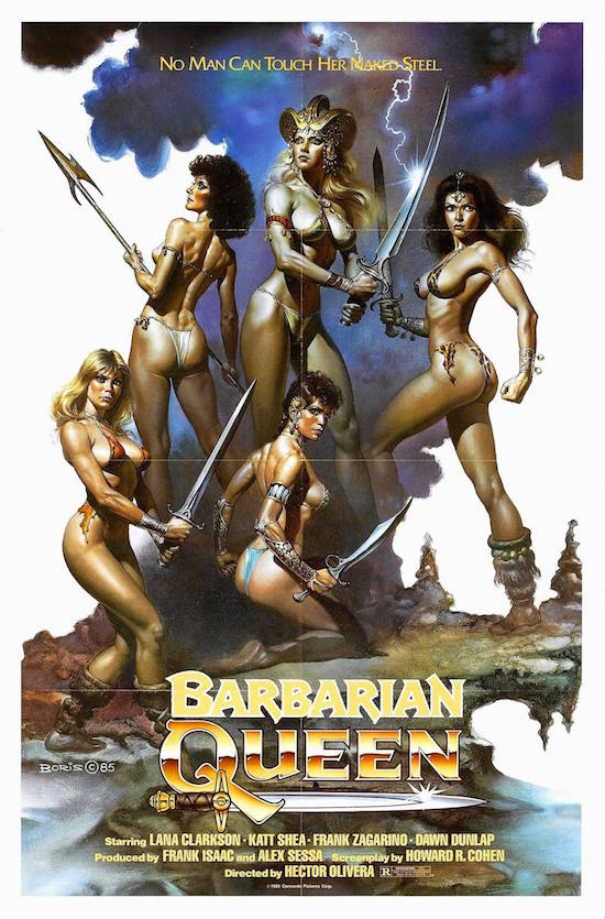 Movie Diary: Barbarian Queen (1985)