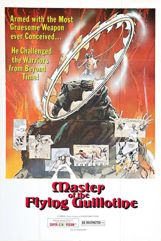 Movie Diary: Master of the Flying Guillotine (1976)